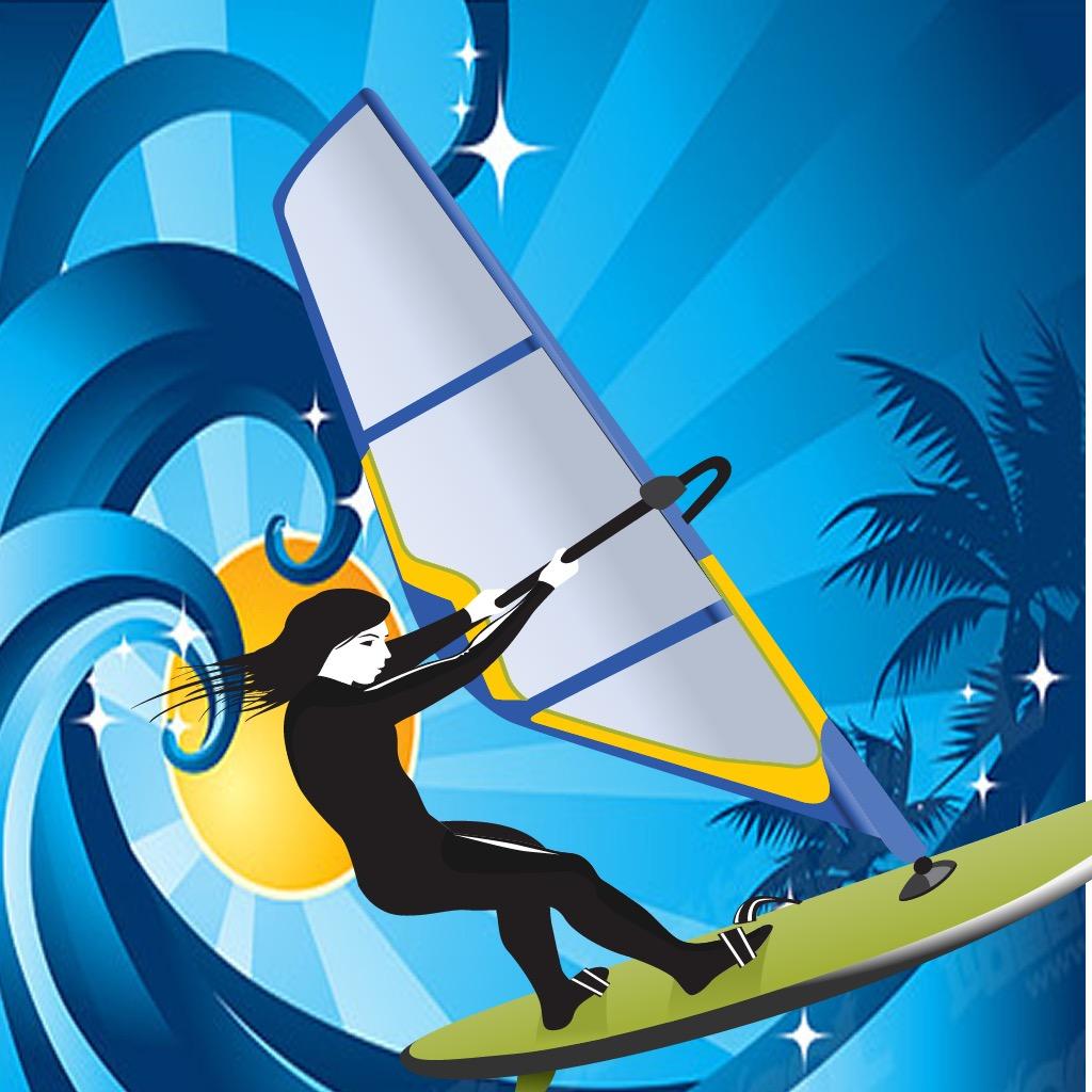 A Beach Surfers